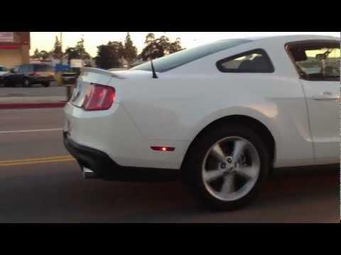 2011 5.0 Mustang GT muffler and resonator delete