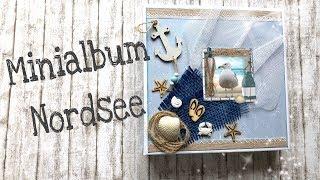 Minialbum Nordsee_ Scrapbooking Northsea