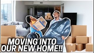 MOVING INTO OUR NEW HOME!!!