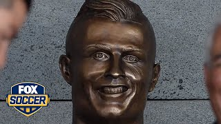 This Cristiano Ronaldo statue is quite the work of art | @TheBuzzer | FOX SOCCER