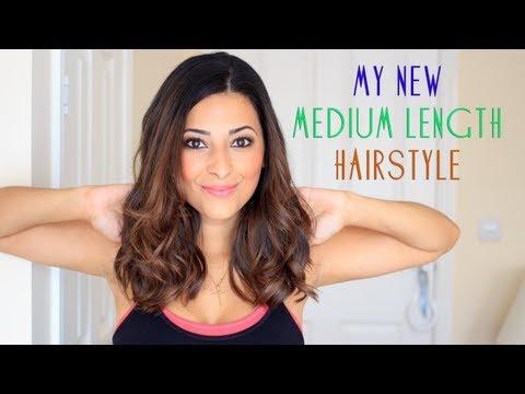 My Medium Length Hairstyle 2013/2 | Le Beauty Girl