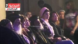 فى الذكرى الثالثة لرحيله ..مسلمون يشاركون فى تأبين البابا شنودة