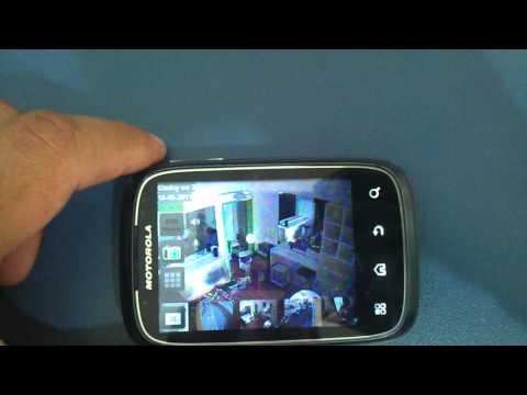 Câmeras Geovison no Android 2.1 - Tutorial