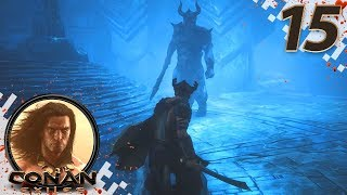 CONAN EXILES (NEW SEASON) - EP15 - Frost Temple! (Gameplay Video)