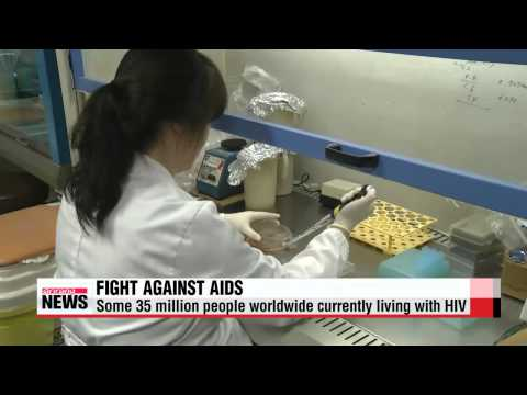 Korean research team finds substance that blocks HIV infection