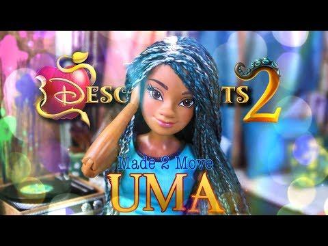 DIY - How to Make: Made to Move Disney Descendants 2 Uma | Custom Doll
