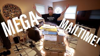 MEGA MAIL TIME! | Back from the road...
