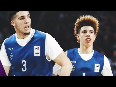 LaMelo & LiAngelo Ball Get NO Love from Lithuania Fans