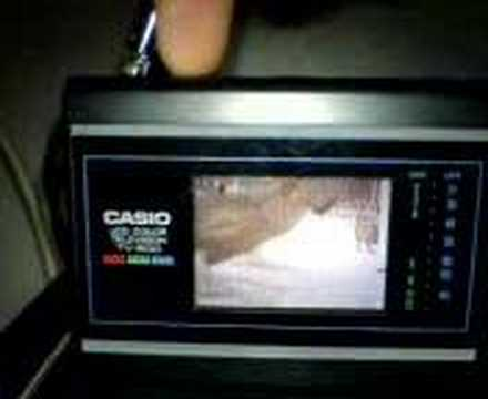 Casio Tv 500 Testing Youtube
