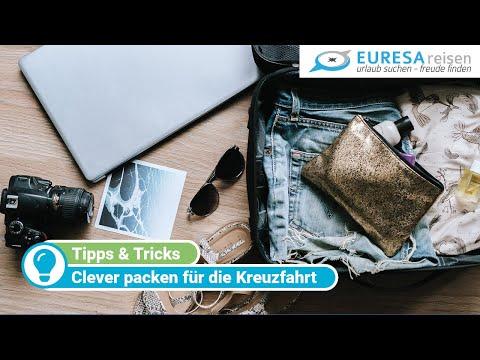 Packliste: Reise-Profis verraten, was bei einer Kreuzfahrt in den Koffer gehört!
