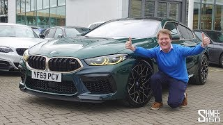Collecting the New BMW M8 Gran Coupe 1 of 8!