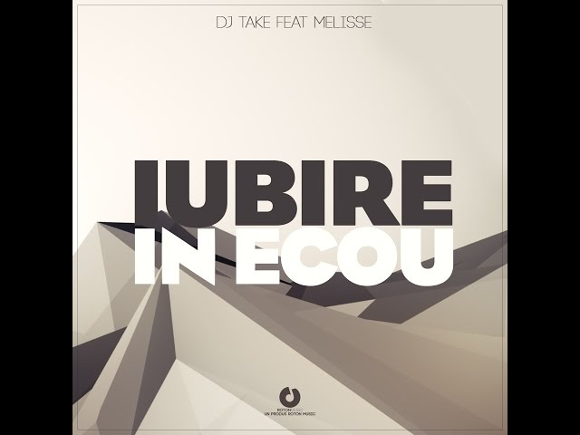 DJ Take - Iubire in ecou feat. Melisse (Official Lyric Video)