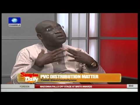 Nigeria Now 50 Percent Ready For 2015 Elections - Ikeji Pt.1