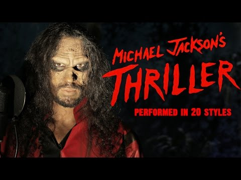 Michael Jackson - Thriller | Ten Second Songs 20 Style Halloween Cover video