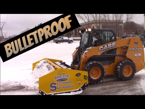 Tractor review - Case Skid Steer and Arctic Snowplow - A Bulletproof system