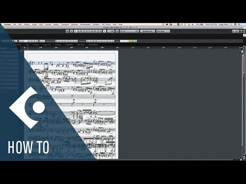 How to layout a Live MIDI Recording in the Score Editor in Cubase   Q&A with Greg Ondo