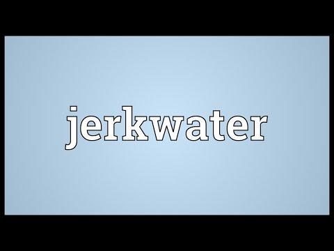 Header of jerkwater
