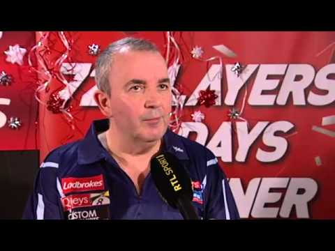 Interview with Phil Taylor after Semi Final with Raymond van Barneveld World Champs 2013