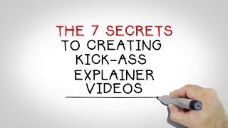 The BlueFX 7 Secrets To Creating Amazing Explainer Videos