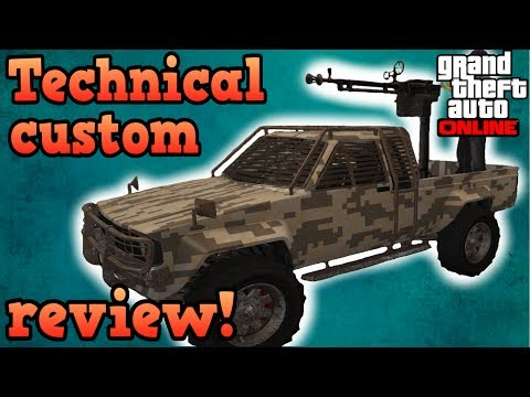 Technical custom review! - GTA Online