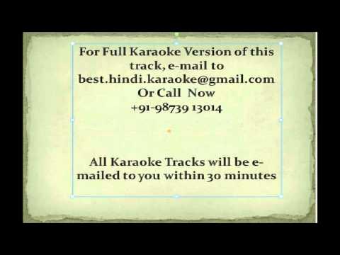 Aankhon Mein Teri Ajab si Karaoke Bollywood Karaoke hindi karaoke om shanti om karaoke KK karaoke