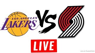 Los Angels Lakers vs Portland Trailblazers LIVE STREAM FREE - November 2 2017 NBA HD