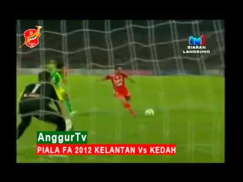 Piala Fa 2012: Kelantan Vs Kedah (ole Ole We Are The Champion) video