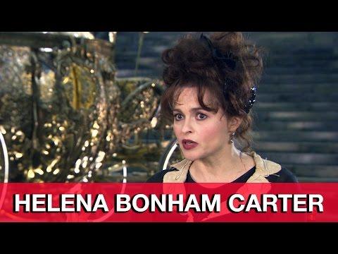 Helena Bonham Carter Interview - Cinderella
