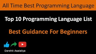 Top 10 Programming Languages In Future | Best Programming Language To Learn For Beginners