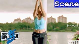 Ileana D'cruz Yoga Scene - Glamorous Intro Scene - Kick Movie Scenes