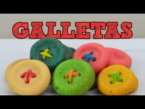 GALLETAS EN 15 MINUTOS | MUSAS | COMO HACER GALLETAS