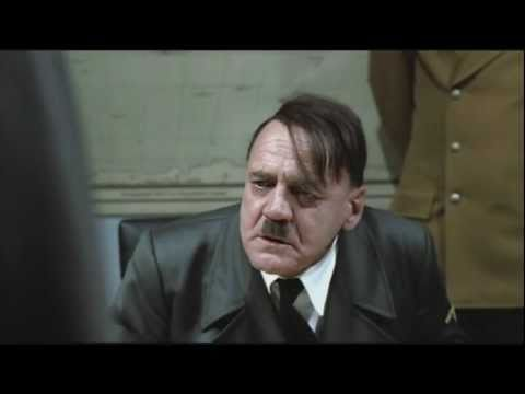 Hitler rants like a Chipmunk