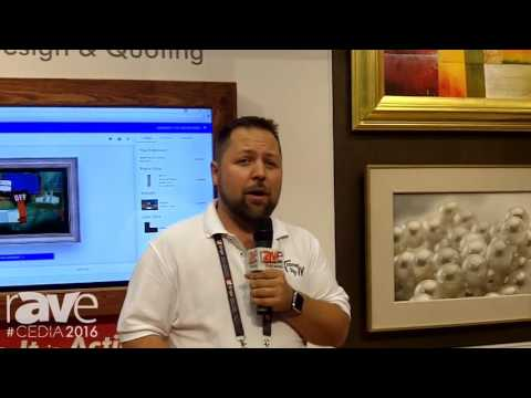CEDIA 2016: Frame My TV Shows Off TV Art Covers, Integrated Mounting System and Website Plug-In