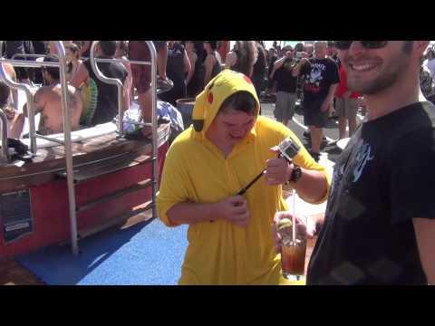 Drunk Pikachu on Heavy Metal Cruise Ship | Docm77