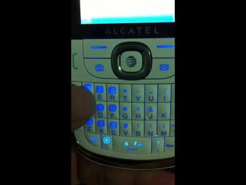 Code unlock Alcatel OT871a fail
