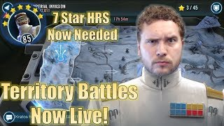 Star Wars Galaxy of Heroes: Territory Battles Live! 7 Star Hoth Rebel Solider Now Needed