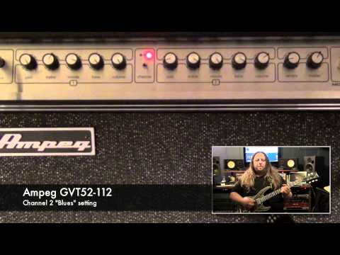 Ampeg GVT Series Guitar Amps - Tone Sample - Blues