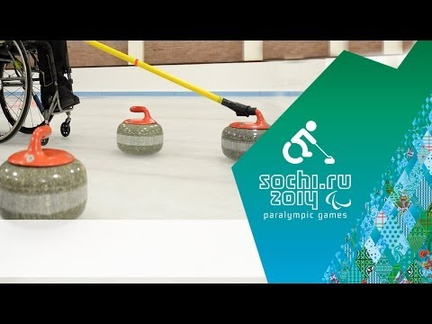 Great Britain v Finland | Round Robin | Wheelchair curling | Sochi 2014 Paralympic Winter Games