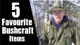My Five Favourite Bushcraft Items