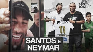 NEYMAR: SANTOS VISITA O INSTITUTO DO CRAQUE