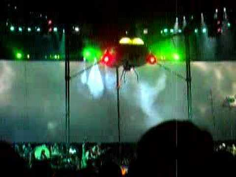 war of the worlds jeff wayne. War Of The Worlds Live at the