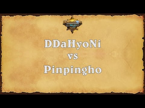 DDaHyoNi vs Pinpingho - Asia-Pacific Winter Championship - Semifinals 1