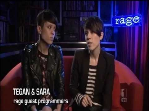 Tegan & Sara Guest Hosting ABC's 'Rage' on 04/5/2013