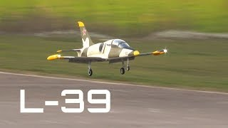 Turbine L-39 maiden flight at RACBSA - HD 50fps