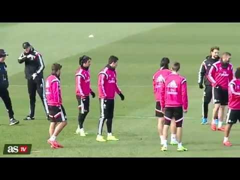 Ancelotti vs Ronaldo