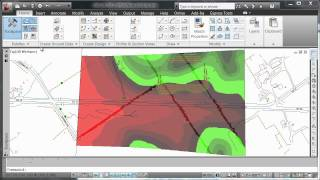AutoCAD Civil 3D 2012 - New Surface Banding