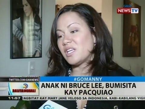 Bt: Anak Ni Bruce Lee, Bumisita Kay Pacquiao video