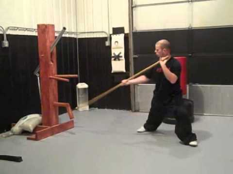 Choy Lay Fut Kung Fu Spear Training Image 1