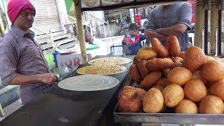 Crazy Breakfast | Crowd Enjoying Cheap But Tasty Street Food | Street Food Old City Hyderabad