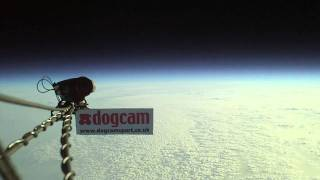 DogCamSport flies to the edge of space 110,000ft on a balloon!